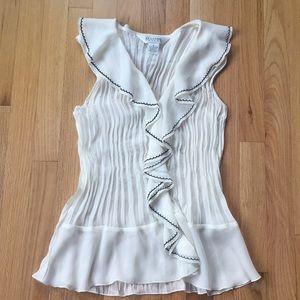 Allison Taylor sleeveless blouse XL